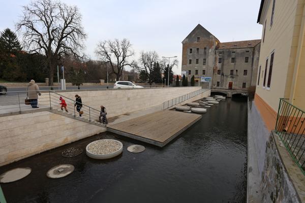 Malomági Lajta-meder rekonstrukció – Mosonmagyaróvár