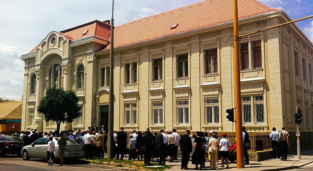 Homlokzat felújítás Győrben